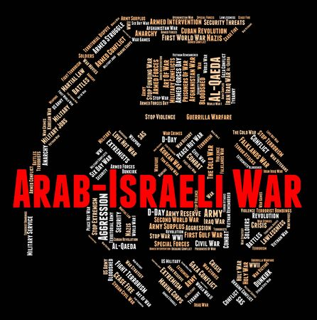 middle east fighting: Arab Israeli War Meaning Middle Eastern And Jewish