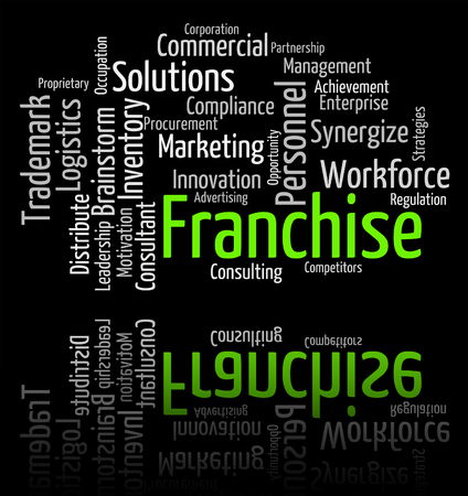 concession: Franchise Word Indicating Franchised Prerogative And Licence
