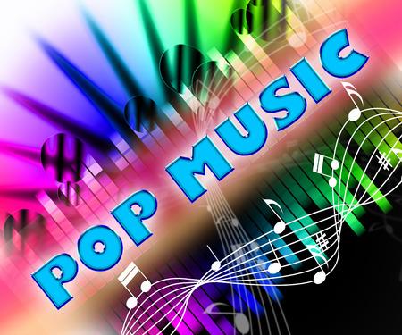 harmonies: Pop Music Representing Acoustic Songs And Musical