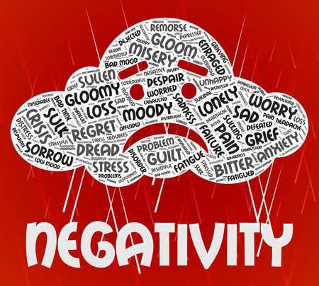 Negativity Word Indicating Dissentt Negatives And Negative