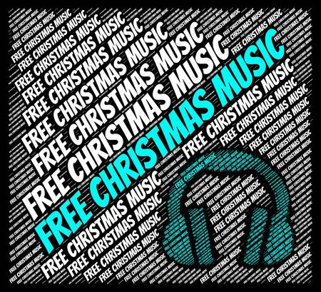 christmastide: Free Christmas Music Indicating Sound Track And Acoustic