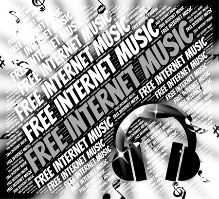 melodies: Free Internet Music Meaning No Charge And Sound