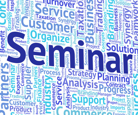 forums: Seminar Word Indicating Symposium Workshop And Forums
