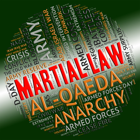 statute: Martial Law Meaning Military Action And Statute