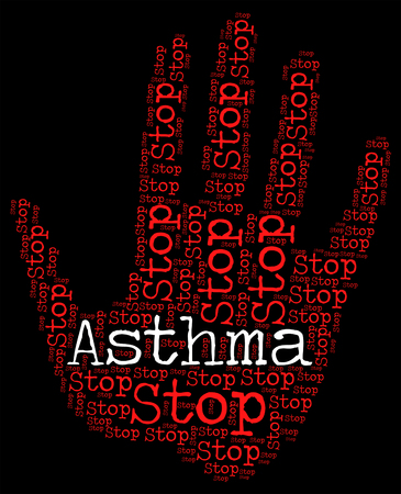 asthmatic: Stop Asthma Showing Asthmatic Warning And Stops