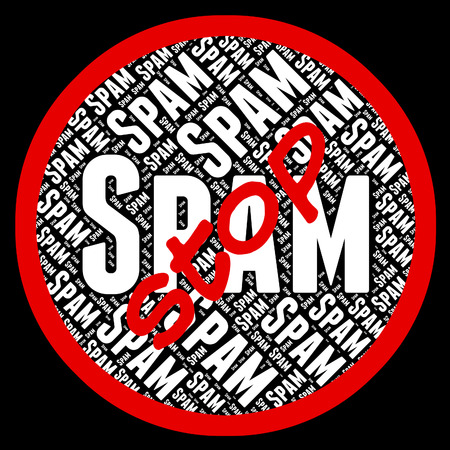 unsolicited: Stop Spam Representing E Mail And Forbidden