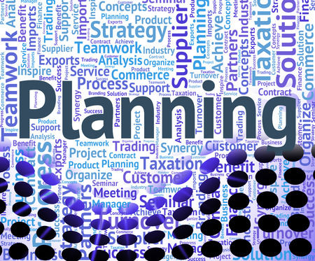 aspire: Planning Word Meaning Aspire Words And Goal Stock Photo