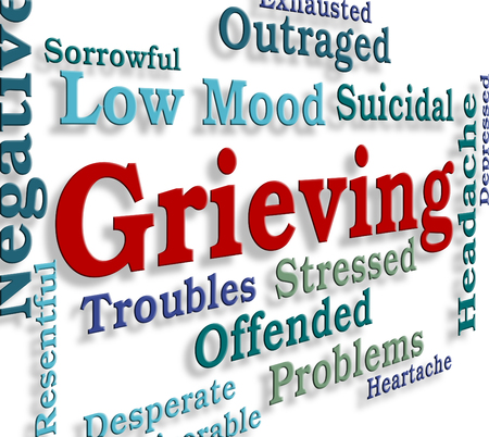 grieve: Grieving Word Meaning Distress Grieve And Pain