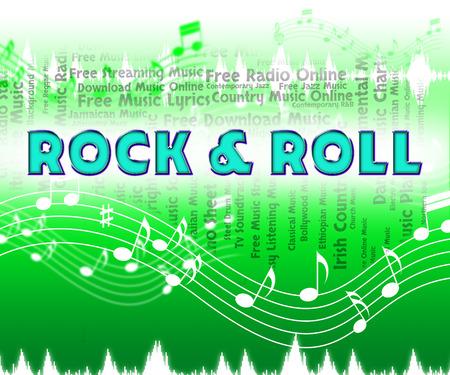 harmonies: Rock And Roll Showing Harmonies Harmony And Sound