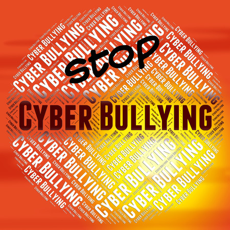 intimidate: Stop Cyber Bullying Meaning World Wide Web And World Wide Web