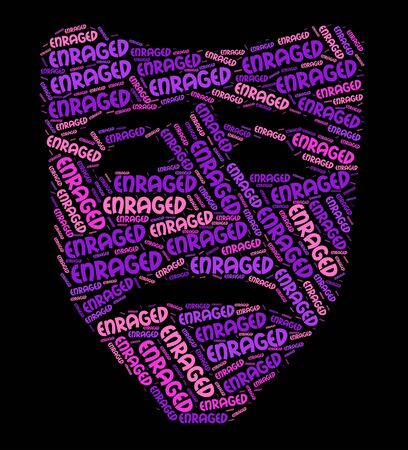 enraged: Enraged Word Meaning Infuriate Madden And Antagonized