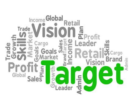 targetting: Target Word Representing Desired Result And End