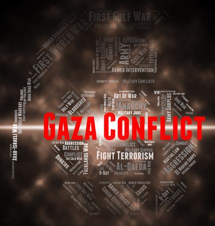 conflict: Conflictos Armados Significado Gobernación de Gaza y Wordclouds