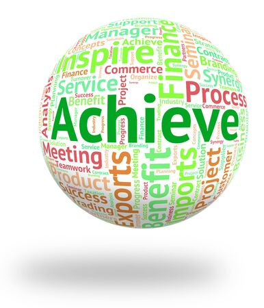 success: Achieve Word Representing Wordclouds Successful And Progress