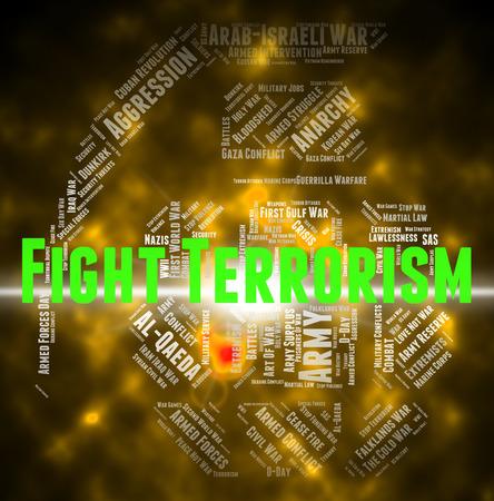 subversive: Fight Terrorism Representing Take On And Terrorist