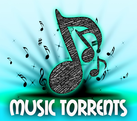 file sharing: Music Torrents Showing File Sharing And Soundtrack