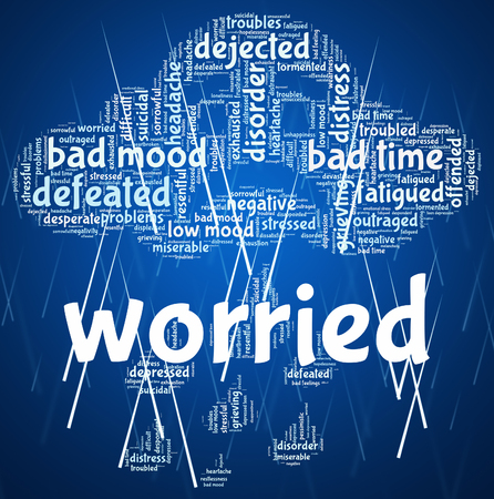 perturbed: Worried Word Meaning Ill At Ease And Under Stress