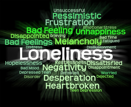 unloved: Loneliness Word Meaning Unloved Rejected And Wordclouds