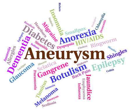 poor health: Aneurysm Illness Representing Poor Health And Complaint