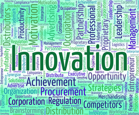 new idea: Innovation Word Meaning New Idea And Improve