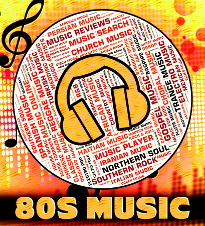 eighties: Eighties Music Meaning Sound Track And Harmony