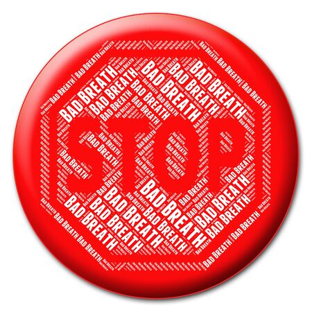 prohibido: Detener el mal aliento Significado Señal de peligro y prohibidos