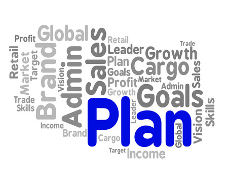 ploy: Plan Word Showing Project Stratagem And Ploy