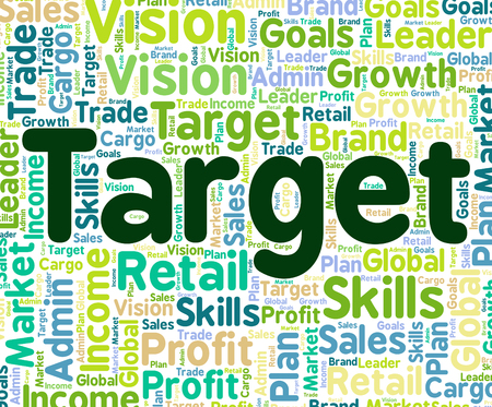 targetting: Target Word Representing Desired Result And Words