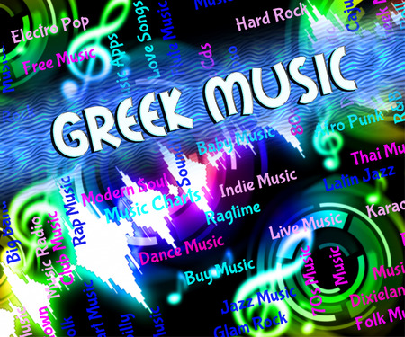 melodies: Greek Music Showing Sound Track And Melodies
