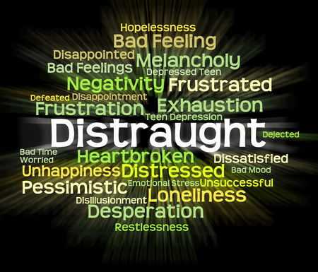 overwrought: Distraught Word Meaning Worked Up And Wordcloud