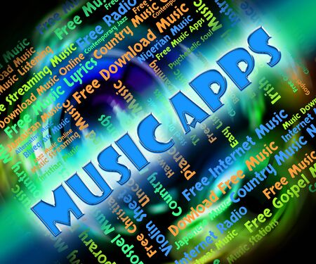 soundtrack: Music Apps Representing Application Software And Soundtrack