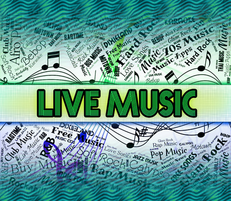 melodies: Live Music Indicating Sound Track And Musical