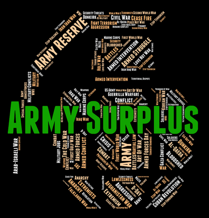 armed services: Army Surplus Meaning Military Service And Excess