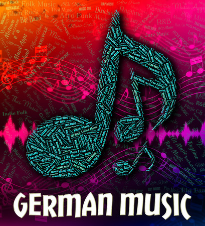 germanic: German Music Meaning Sound Track And Germanic
