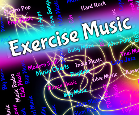 melodies: Exercise Music Representing Sound Track And Melodies