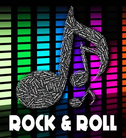 soundtrack: Rock And Roll Showing Sound Tracks And Soundtrack