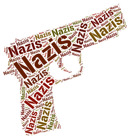 the nazis: Nazis Word Representing National Socialism And Groups