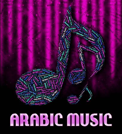 melodies: Arabic Music Representing Sound Tracks And Harmony