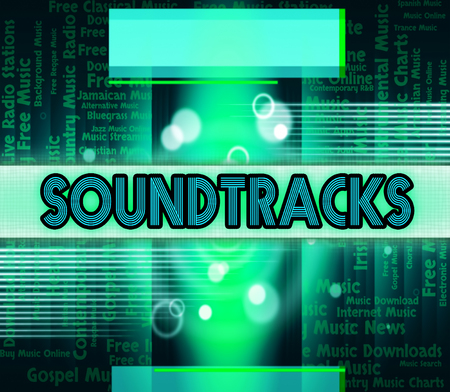 motion picture: Soundtracks Music Indicating Motion Picture And Television