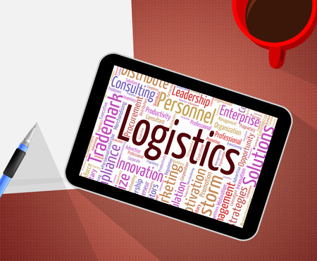 coordinate: Logistics Word Representing Analysis Coordinate And Logistical