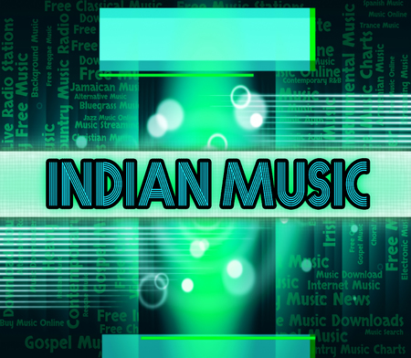 soundtrack: Indian Music Showing Sound Tracks And Soundtrack
