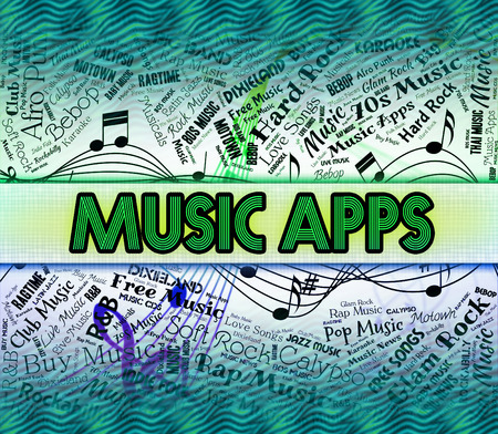 applications: Music Apps Indicating Sound Tracks And Computing