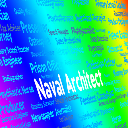 building planners: Naval Architect Representing Position Architecture And Work
