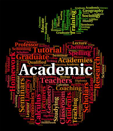 academy: Academic Word Representing Military Academy And Academies
