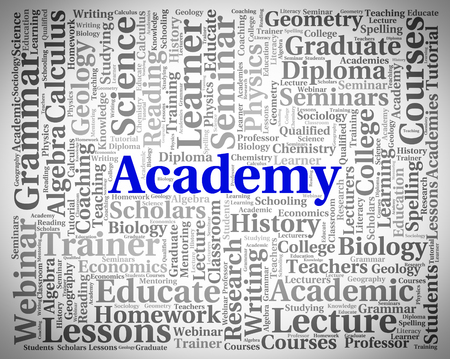 Academy Word Meaning Words Academies And College