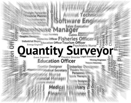 quantity surveyor: Quantity Surveyor Showing Measurer Employment And Recruitment