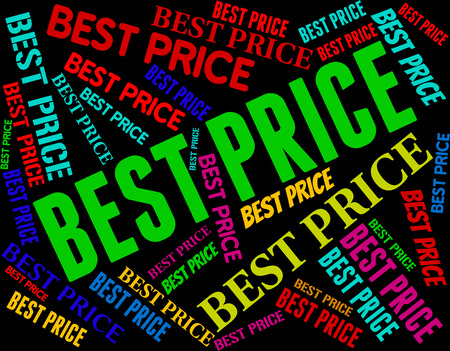 unrivalled: Best Price Indicating Number One And Optimal