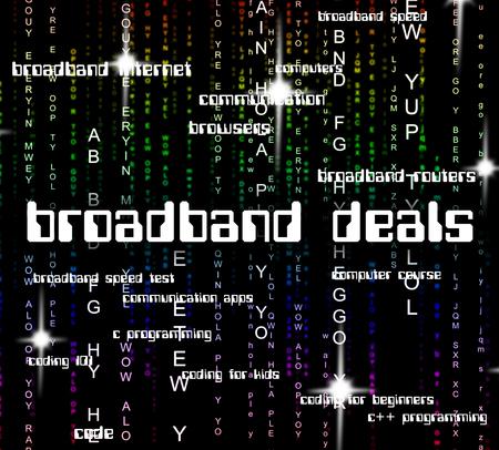 technology agreement: Broadband Deals Representing World Wide Web And Website