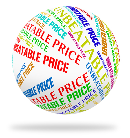 unbeatable: Unbeatable Price Representing Promotional Savings And Offer