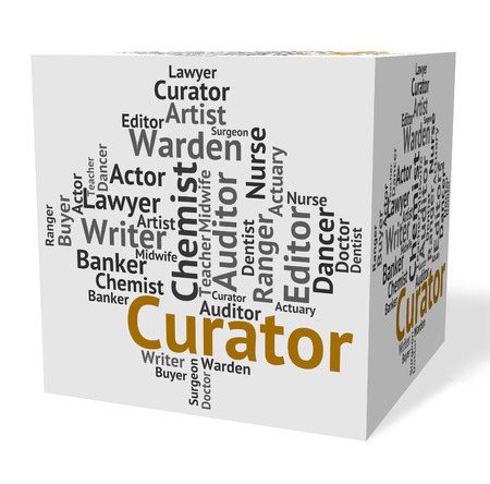 custodian: Curator Job Meaning Work Words And Occupations